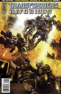 Transformers Nefarious (2010 IDW) 1A