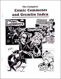Complete Comic Comments and Gremlin Index 1