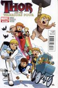 Thor and the Warriors Four (2010 Marvel) 3