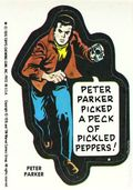 Topps Marvel Comic Book Heroes Sticker Trading Cards (1976) PETERPARKER
