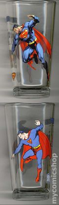 Toon Tumblers DC Comics Pint Glasses (2010) SUPERM-2