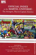 Official Index Marvel Universe Avengers Thor Capt. America 4