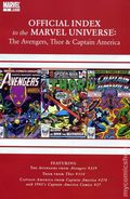 Official Index Marvel Universe Avengers Thor Capt. America 7