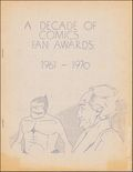 Decade of Comics Fan Awards 1961-1970 0