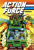 Action Force Annual HC (1986-1989 GI Joe UK) 1989-1ST