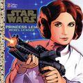 Star Wars Princess Leia Rebel Leader SC (1997 Golden Books) 1