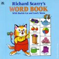 Richard Scarry's Word Book with Huckle Cat and Lowly Worm SC (1992 Golden Book) 1-1ST
