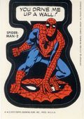 Topps Marvel Comic Book Heroes Sticker Trading Cards (1975) SPIDERMAN-2A