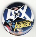 Avengers vs. X-Men Button (2012 Marvel) AVENGERS