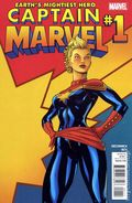 Captain Marvel (2012 7th Series) 1A
