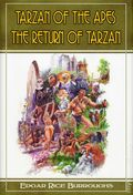Tarzan of the Apes/Return of Tarzan HC (2012 Illustrated Novel) 1-1ST