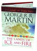 Game of Thrones Maps of the Lands of Fire and Ice HC (2012 Bantam Books) 1-1ST