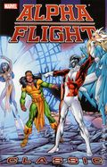Alpha Flight Classic TPB (2007-2011 Marvel) By John Byrne 3-1ST