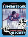 Files Magazine Spotlight on the Superheroes File: Superman and Spider-Man On Screen SC (1986) 2-1ST