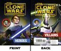 Star Wars The Clone Wars Heroes/Villains SC (2009 Flip Book) 1-1ST