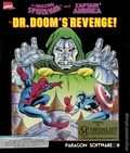 Amazing Spider-Man and Captain America in Dr. Doom's Revenge Computer Game (1989 Paragon) ITEM#1