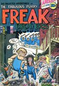 Fabulous Furry Freak Brothers (Rip Off Press) Issue 1, Printing 5