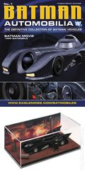 Batman Automobilia: The Definitive Collection of Batman Vehicles (2013- Eaglemoss) Figurine and Magazine #01