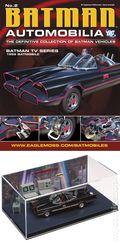 Batman Automobilia: The Definitive Collection of Batman Vehicles (2013- Eaglemoss) Figurine and Magazine #02