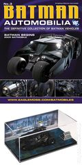 Batman Automobilia: The Definitive Collection of Batman Vehicles (2013- Eaglemoss) Figurine and Magazine #03