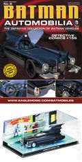 Batman Automobilia: The Definitive Collection of Batman Vehicles (2013- Eaglemoss) Figurine and Magazine #06