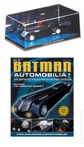 Batman Automobilia: The Definitive Collection of Batman Vehicles (2013- Eaglemoss) Figurine and Magazine #08