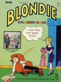 Blondie Coloring Book SC (1968 Saalfield) 1-1ST