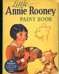 Little Annie Rooney Paint Book (1935 Whitman) NN