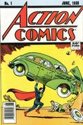 Action Comics (1938 DC) #1 Reprints 1-1988-NEWSSTAND