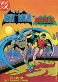 Batman and Robin The Case of the Laughing Sphinx HC (1982 DC) Fisher-Price Library of Storytapes and Books 1-1ST
