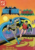 Batman and Robin The Case of the Laughing Sphinx HC (1982 DC) Fisher-Price Library of Storytapes and Books 1N-1ST