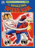 Amazing Spider-Man Coloring Book SC (1976 A Golden Book) 1-REP