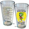 Marvin the Martian Pick-Up Lines Pint Glass (2013 ICUP) ITEM#1