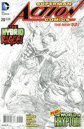 Action Comics (2011 2nd Series) 20B