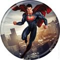 Man of Steel Buttons (2013 Ata-Boy) #82505