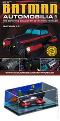 Batman Automobilia: The Definitive Collection of Batman Vehicles (2013- Eaglemoss) Figurine and Magazine #09