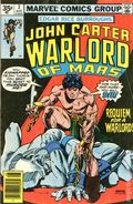 John Carter Warlord Of Mars (1977 Marvel) 35 Cent Price Variant 3