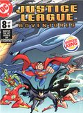 Justice League Adventures Burger King Mini Comics (2003) 8