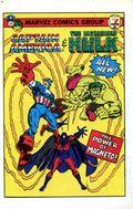 7-Eleven Captain America and Incredible Hulk Mini Comic 1981