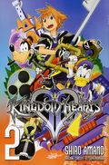 Kingdom Hearts II GN (2013 Yen Press Digest) New Edition 2-1ST