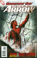 Green Arrow (2010 3rd Series DC) 5ADFSIGNED