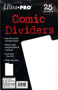 Comic Title Dividers, Plastic 25-pack