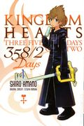 Kingdom Hearts 358/2 Days GN (2013- Yen Press Digest) three Five Eight Days Over Two 1-1ST