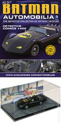 Batman Automobilia: The Definitive Collection of Batman Vehicles (2013- Eaglemoss) Figurine and Magazine #21