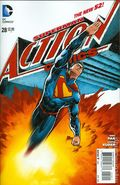 Action Comics (2011 2nd Series) 28A