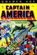 Golden Age Captain America Omnibus HC (2014 Marvel) 1B-1ST