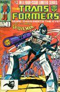 Transformers (1984 Marvel) 2nd Printing 3