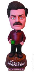Parks and Recreation Ron Swanson Bobblehead (2014 Underground Toys) ITEM#1