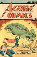 Action Comics (1938 DC) #1 Reprints 1-1976-10CENT