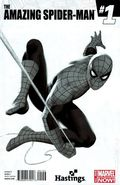 Amazing Spider-Man (2014 3rd Series) 1HASTINGSB&W